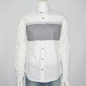 VINCE Cotton Casual Shirt Sz L